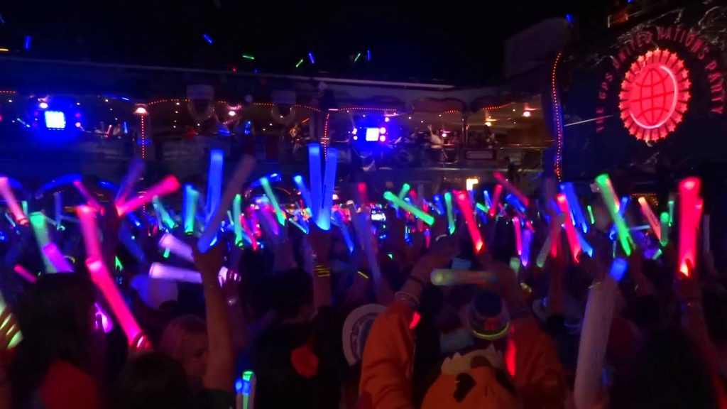 90's dance theme party Glowsticks