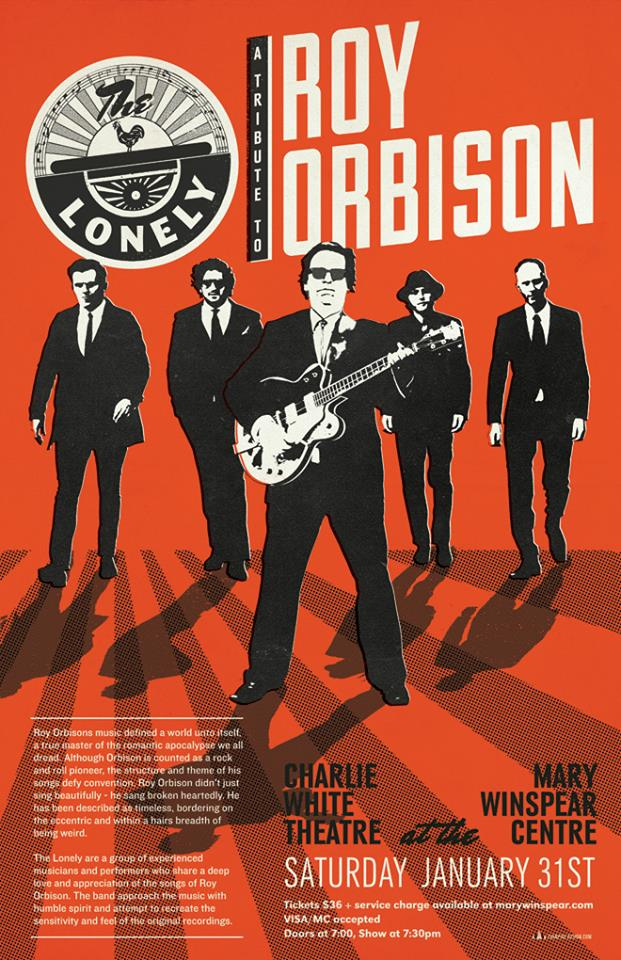 The Lonely - Roy Orbison Tribute